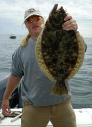 Nj fluke fishing and bottom fishing charter boat from for Fluke fishing nj